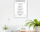 Kitchen Rules Poster | Fo...