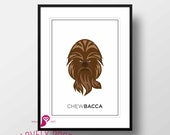 Star Wars Poster | Chewbacca | Galactic Empire | Movies | Boy Room | Design | Decor | Trends | Wall Art | Wall Decor | Home Decor | Prints
