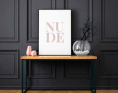 Nude Poster | Nude Sign |...