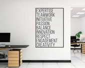 Values Poster | Office Si...