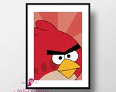 Angry Birds Poster | Red ...