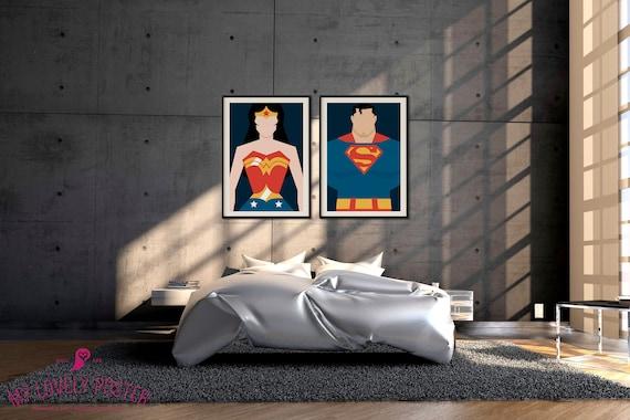 Poster SUPERMAN COMICS SUPER HEROS Wall