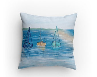 Boat Day Pillow