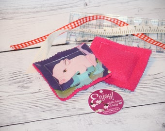 Cold Pack / Hot Rice Pack, Boo Boo packs, handmade gifts, Keep in Freezer, Use on bumps and bruises, Microwaveable and Freezer Safe