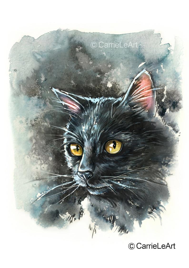 Black Cat - Carri LeArt