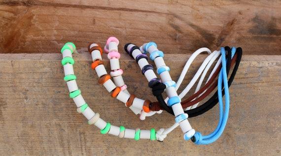 collier perle ceramique chien
