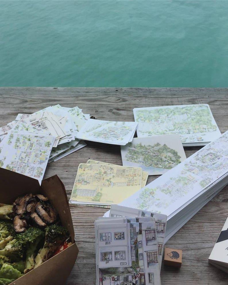 Aberdeen \u9999\u6e2f\u4ed4 Hong Kong Postcard