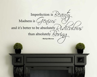 More Colors Marilyn Monroe Wall Art Quote