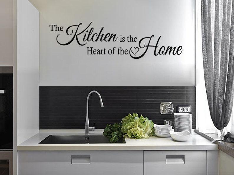 Citaten Hart Onder De Riem : Keuken wand citaat de keuken is het hart van het etsy