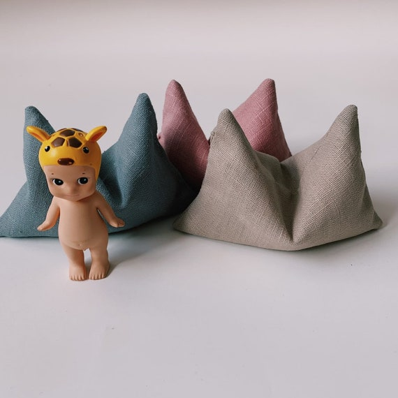 Sit En Joy Lounge Zitzak.Miniature Bean Bag Doll Bean Bag Dollhouse Furniture Etsy