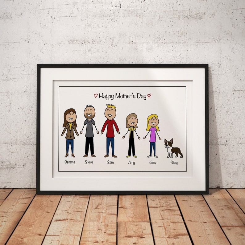 Personalised Mothers Day Gift Husband