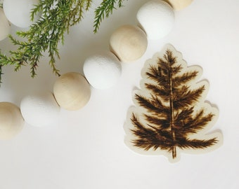 Pine Tree Sticker - High Quality Vinyl Stickers Laptop Decal Forest Aesthetic Sticker Christmas Gift
