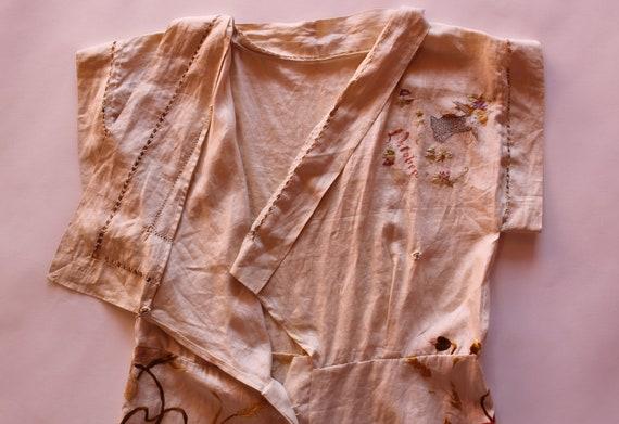 RARE 1930s beach pyjamas || 30s embroidered Germa… - image 8