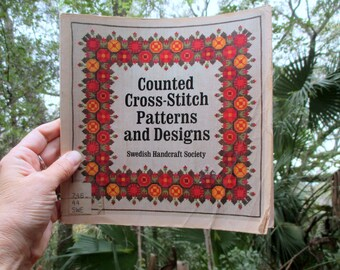 Swedish Handcraft Society Counted Cross-Stitch Patterns and Designs PB Book
