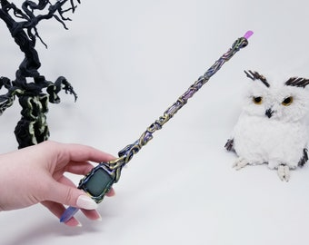Lilith the Space Witch Wand - Witch Gift - Magic Wands - Witch Wand - Wizard Wand - Witch Accessory Witchcraft Wicca