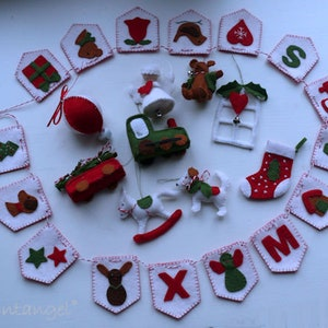 Combi deal pdf patterns the first five patterns of the Christmas Sew Along instand download