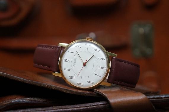 Classic watch, Boyfriend gift, Art deco watch, Vos