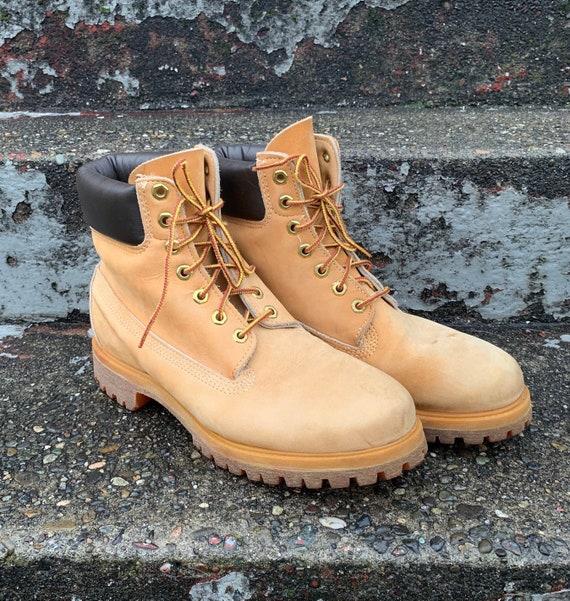 Vintage Timberland Original Yellow Boot Waterproof