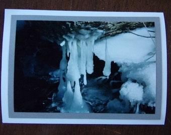 Freezing Stream Card