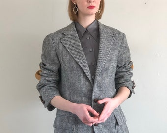 Elbow Patch Tweed Etsy