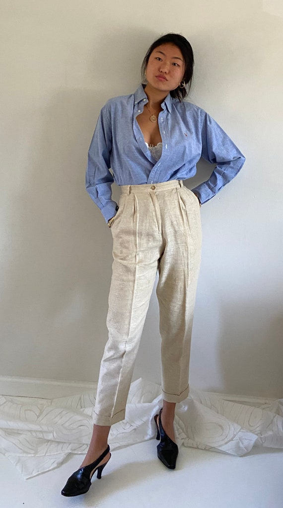 80s Ralph Lauren button down shirt / vintage baby… - image 6