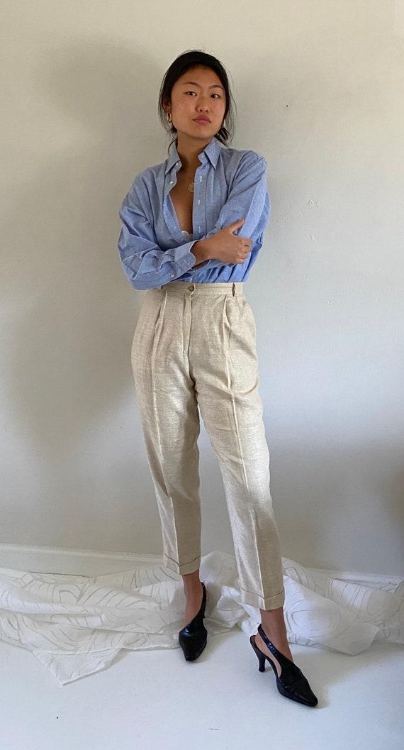 80s Ralph Lauren button down shirt / vintage baby… - image 3