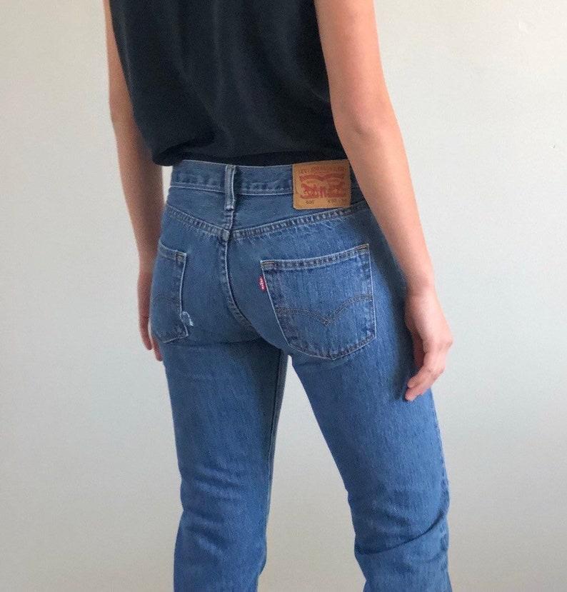d79be649 Vintage Levis 501 button fly jeans / 90s Levis Levi 501s | Etsy