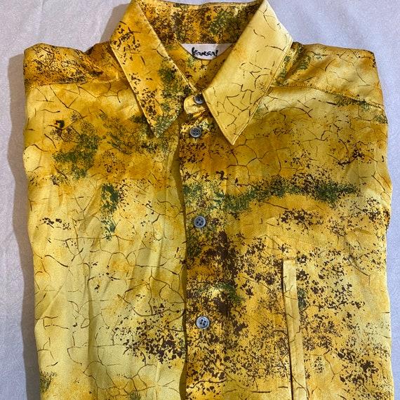 VTG Renaissance Kansai Silk Long Sleeve Men's Shir