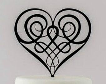Celtic Cake Topper, Celtic Wedding, Irish Wedding Ideas, Celtic Love Knot, Irish Wedding Gift, Scottish Cake Topper, Same Sex Wedding