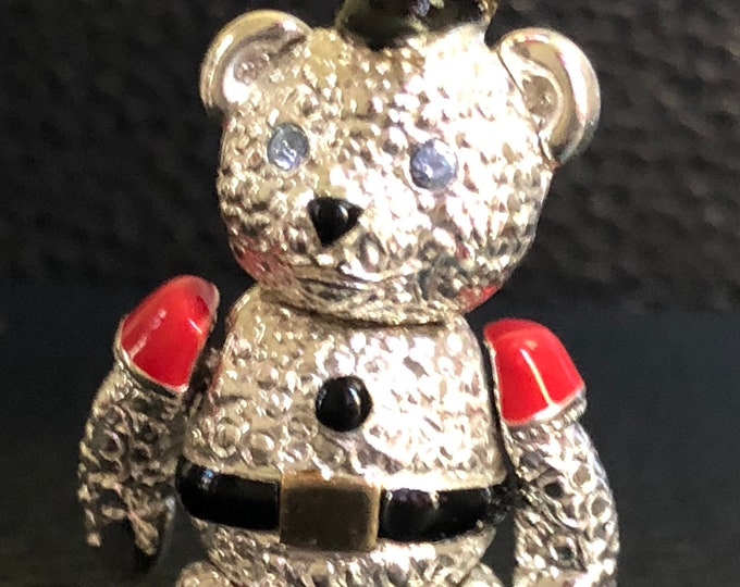 Napier articulating Christmas soldier Bear
