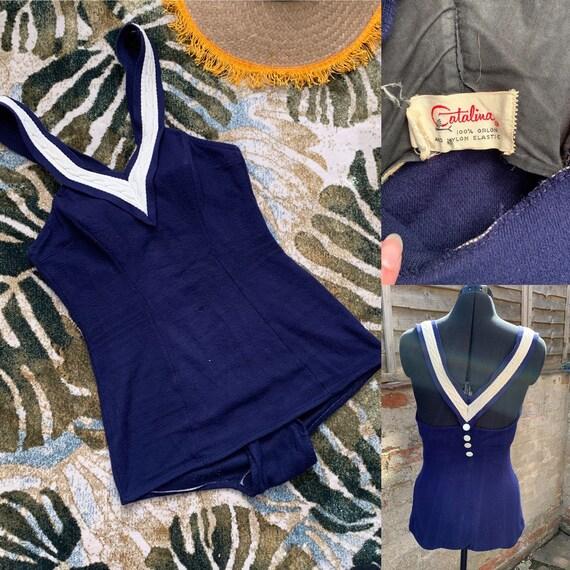 1940s Catalina swimsuit
