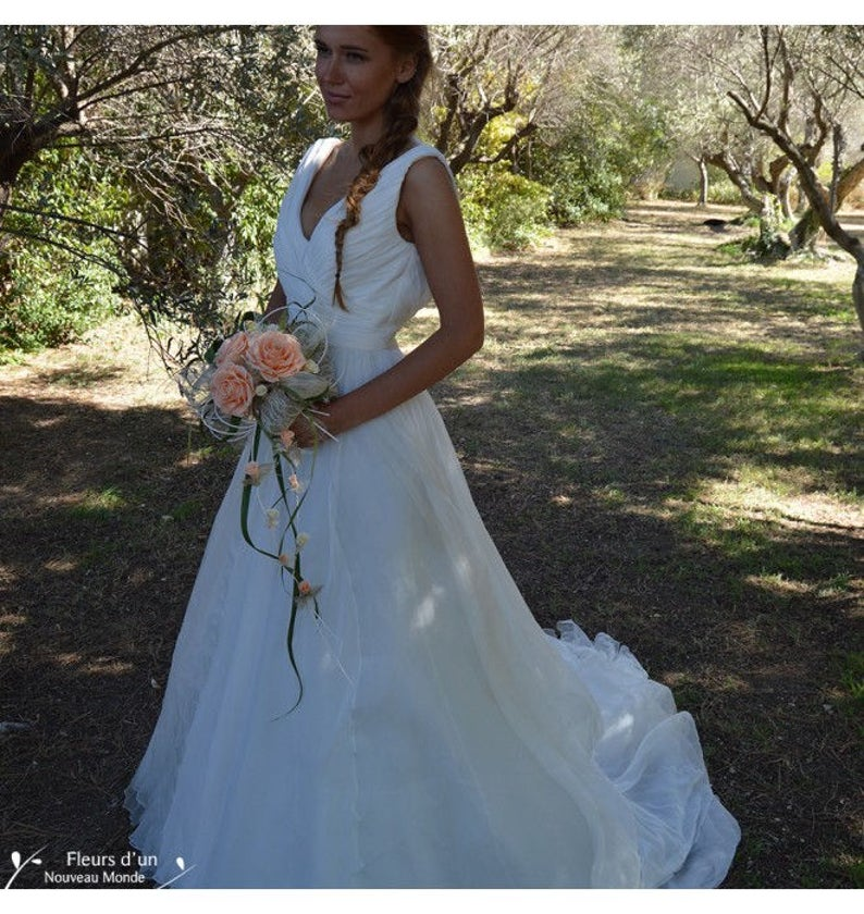 Wedding Bouquet Promesse preserved flowers Preserved Natural Flowers Keep Your Bride Bouquet