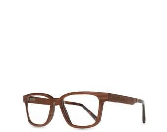 e2230684b09b Cherry Wood Optical Glasses Wooden Eyeglasses Frame Clear Lenses Hipster  Bamboo Natural Personalized glasses Reading Wood Glasses Gift