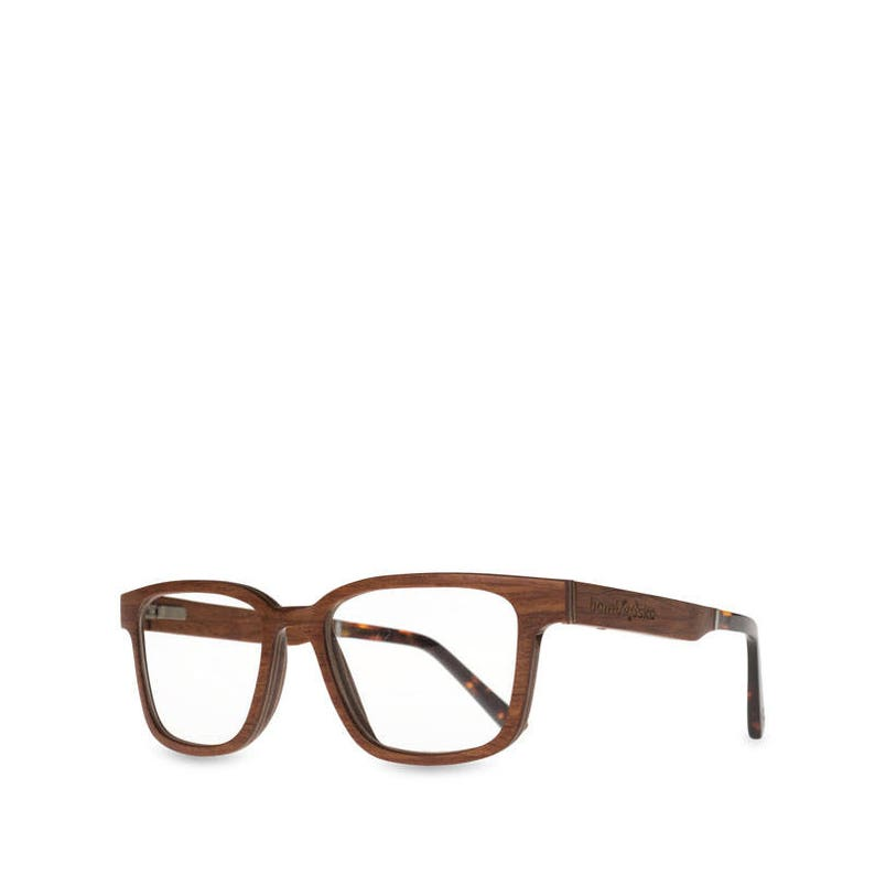 47a4a4a08bd0 Cherry Wood Optical Glasses Wooden Eyeglasses Frame Clear