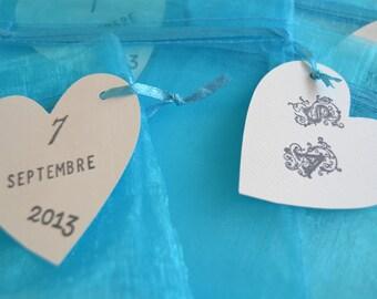 Bag for candy bar for original wedding