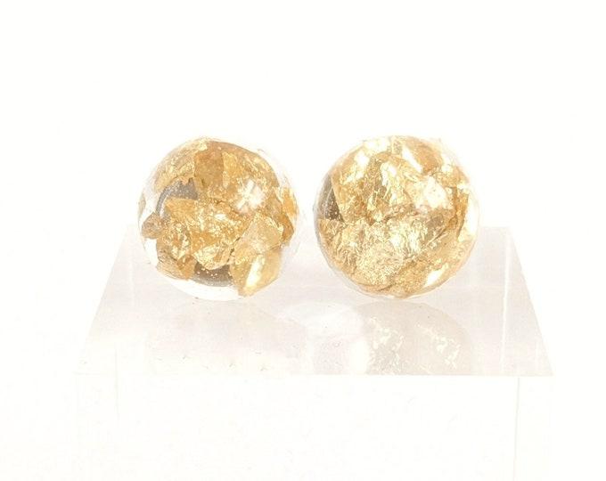 Floating Gold Earrings