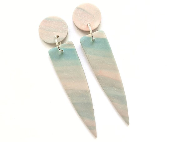 Cotton Candy Statement Earrings