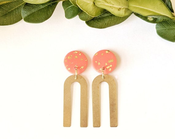 Coral Arch Earrings *New for Summer*