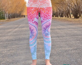Mandala Lace Top Leggings!!!! With Pockets!!!