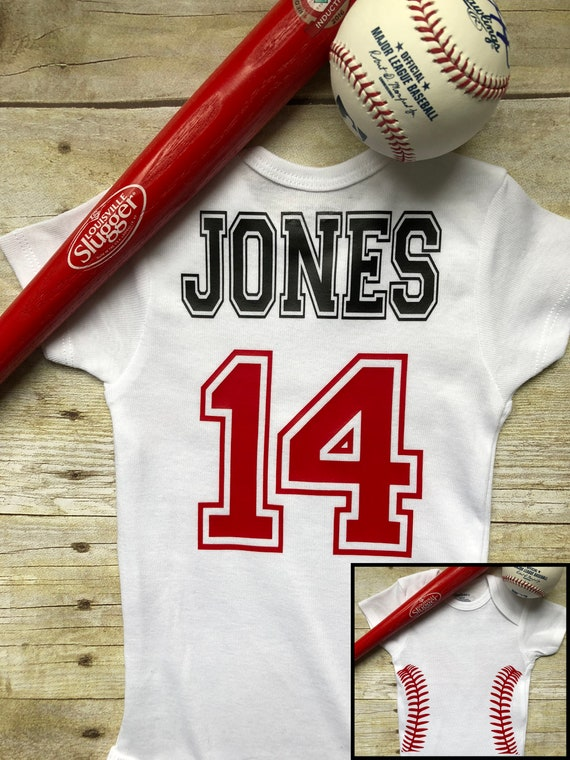 Baseball Baseball bat Personalized Shirt Baseball Glove Baseball Shirt Personalized Onesie