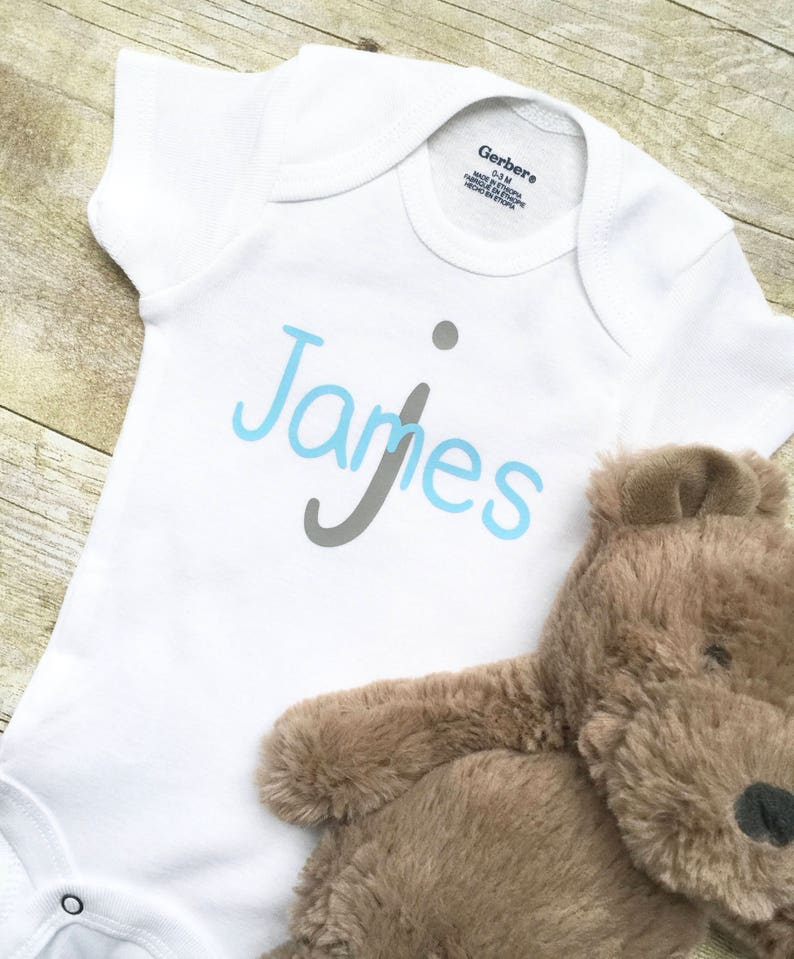 Custom Baby Outfit Baby Shirts Custom Baby Onesie,Newborn Onesie Baby Boy Onesie Newborn Clothes New Mom Gift Personalized Baby Onesie