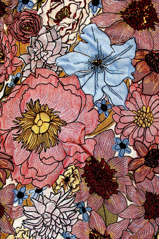 Back-Ordered - Dream Garden Floral Blanket - Couverture de tapisserie multicolore - Lancers en coton - Cadeau de crémaillère - Décor maison de fleur