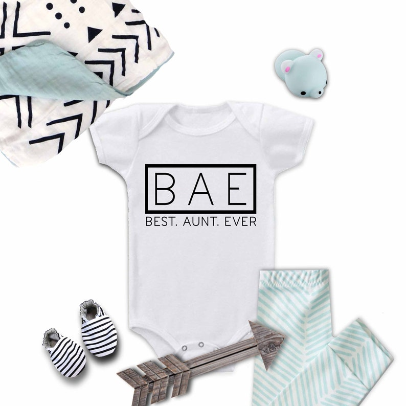 3e445f51e865a Gender reveal onesies, new baby onesie, baby announcement, pregnancy  reveal, Auntie surprise, gender announcement, surprise pregnancy,