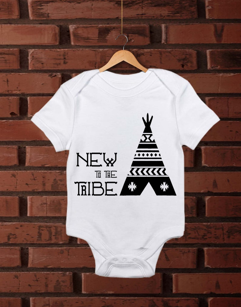 bd56681fad84d Gender reveal onesies, new baby onesie, baby announcement, pregnancy  reveal, new to the tribe, gender announcement, surprise pregnancy,