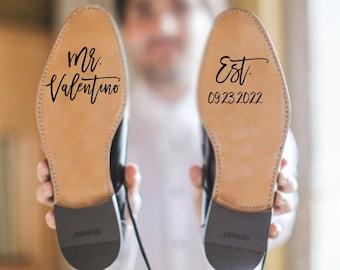 custom wedding decal/ wedding prop/ wedding shoes/ wedding shoe decal/ wedding shoe stickers/ wedding shoes/ photo prop/ wide to be/ wedding