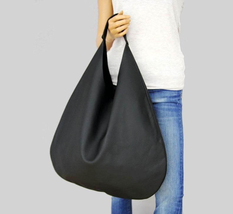 de57948431 Sac besace en cuir noir sac à main noir pour femme sac à | Etsy