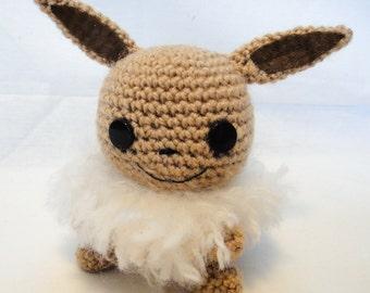 Eevee Pokémon - amigurumi crochet plush toy