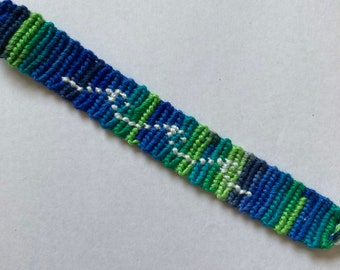Lite Brite Diamond Eye Friendship Bracelet