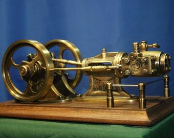 model live steam engine - brass