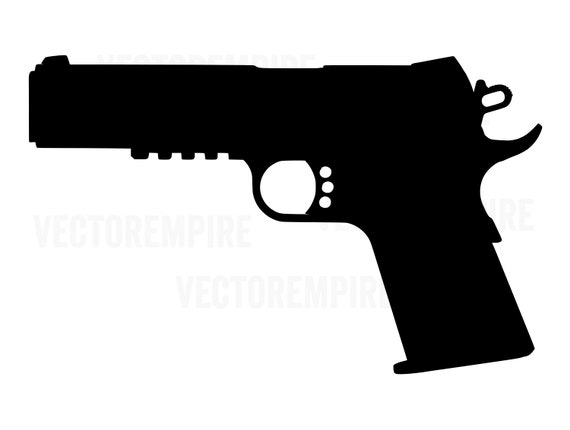 1911 svg pistol graphic gun vector handgun clip art etsy 1911 svg pistol graphic gun vector handgun clip art 1911 cricut file 45 gun firearm svg sidearm svg png jpg eps dxf